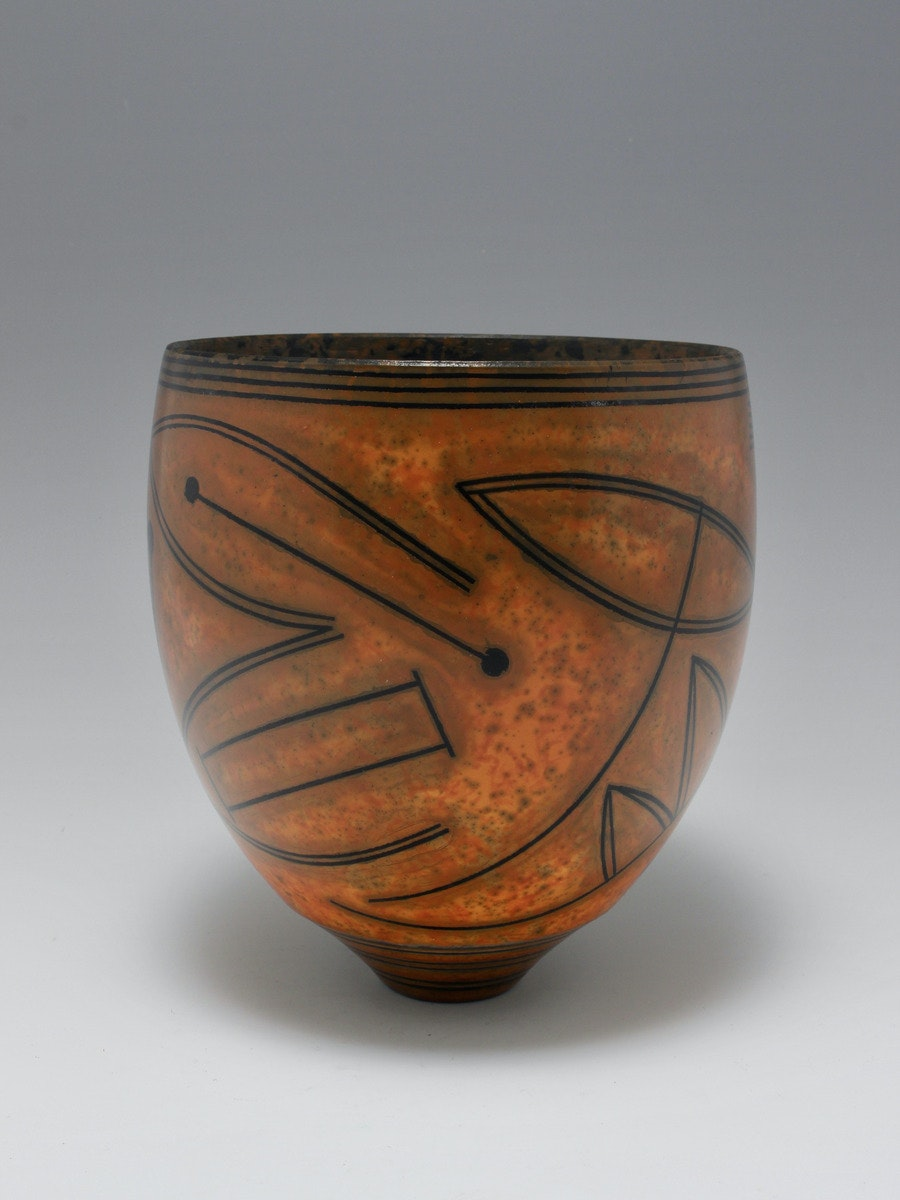 Terra-sigillata Bowl with Pictograms. Height: 20 cm. Price in GBP:  £1140.00