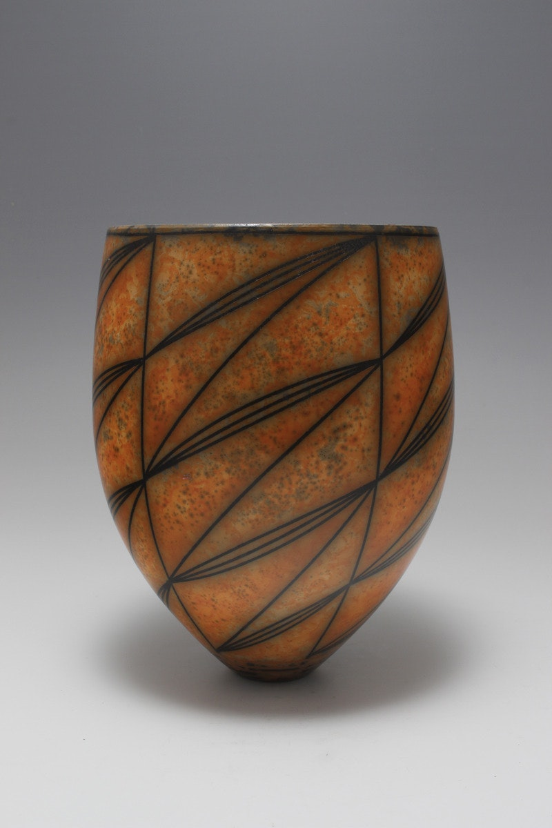 Terra-sigillata Vessel Form. Climbing lines. Height: 21 cm. Price in GBP: £1070