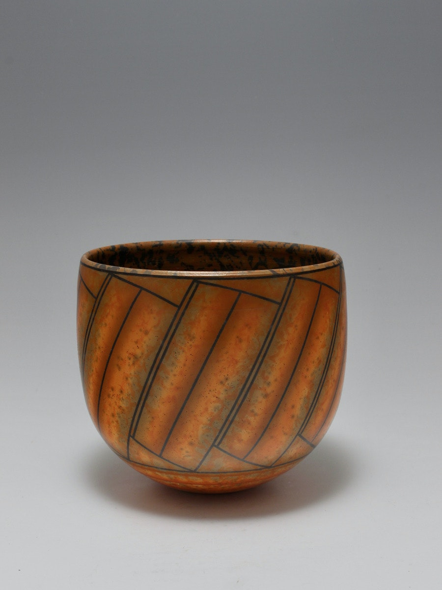 Terra-sigillata Bowl Form. Height: 13 cm Price in GBP: £450.00 Tilting blocks.