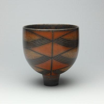 Dark terra-sigillata Bowl.  Height: 14 cm Price: £600.00