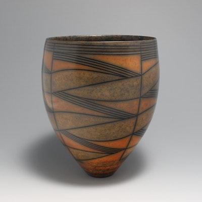 Medium-Dark Terra-sigillata Vessel. Height: 22.5 cm. Price in GBP: £1500.00