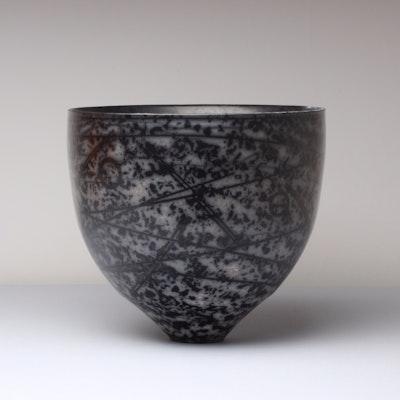 Dark Terra-sigillata Bowl Form. View 2