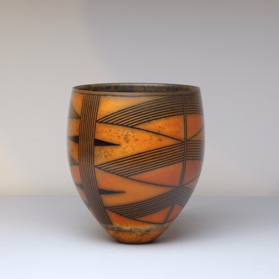 Terra-sigillata Vessel. Height: 17.5 cm Price in GBP: £800.00
